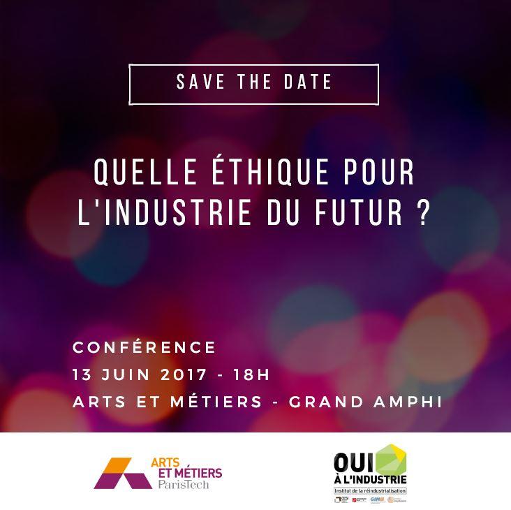 Conférence / Quelle éthique pour l'industrie du futur ?