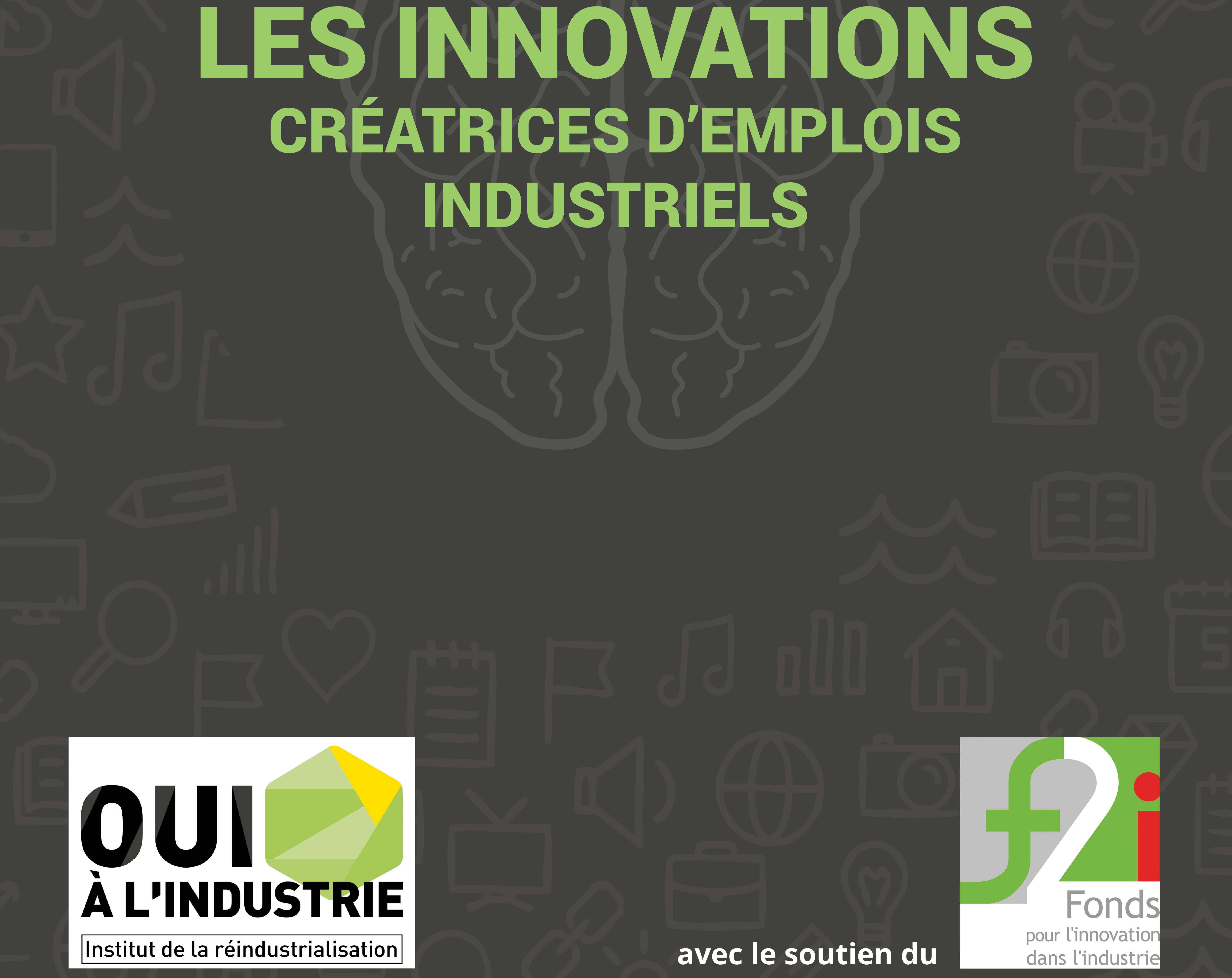Consultez l'ouvrage «les innovations créatrices d'emplois industriels»